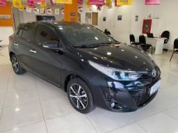 Título do anúncio: Toyota Yaris XLS 1.5 Aut (Teto) 2019 Revisado Toyota
