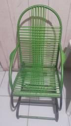 Cadeira de balanço usada