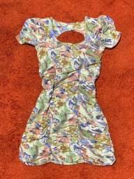 Vestido estampado M