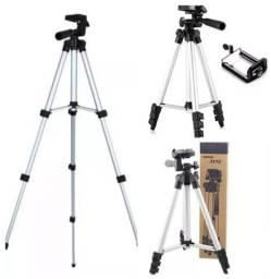 Título do anúncio: TRIPÉ p/ celular/ ring Light/ câmeras R$85