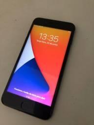 iPhone 7 Plus black 128gb ( carregador e fone )
