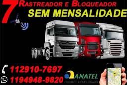 Rastreador - Bloqueador - Escuta / De Caminhão