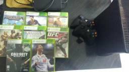 Xbox360 bloqueado(aceito trocas em pc)