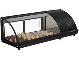 Vitrine refrigerada gelopar para sushi