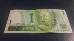 Nota de 1 Real, esta nova nunca foi usada, envio por Correios