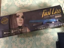 Prancha de cabelo Fast Liss Nano Titanium