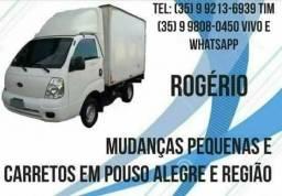 Faço fretes e mudanças pequenas em Pouso Alegre e região 99808-0450
