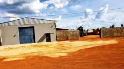 Galpão com 300 m², 1.100 m² de Terreno na TO-080 - Orla Oeste