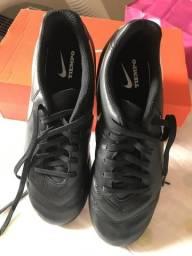 Chuteira Nike Tiempo Original tamanho 36 NOVA ee145f1f3bca2