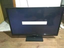 TV LG LED 32 com controle, super nova!!!
