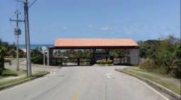 Lote de 525 m²,com duas frentes, vista mar,no Condomínio Atlantis,Garça Torta, só 375 mil!