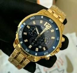Relógio Megir Ouro