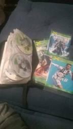 Vendo todos os jogos de Xbox 360 desbloqueio 3.0