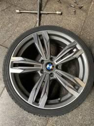 Vendo rodas aro 20 zeras, e 4 pneus novos - 2012