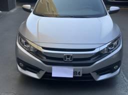 Honda Civic EX, 14.800km, única dona, impecável!!! - 2017