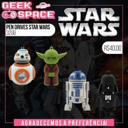 Pen Drives Star Wars 32gb Bb8 R2d2 Darth Vader Yoda