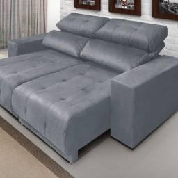 Título do anúncio: Só para os exigentes- Lindo sofá retratil e reclinavel