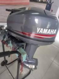 Motor de popa 15hp Yamaha 2006 conservado *