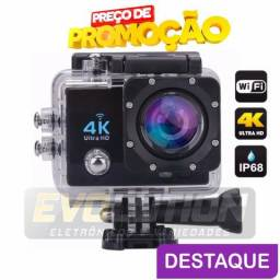 Action Câmera Hd Go Sport Wi-fi 4k 1080p Prova D'água
