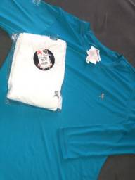 35 reais cada blusa proteção solar