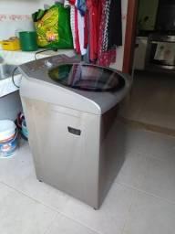 Máquina de lavar 11 kg,inox,brastemp, modelo ative