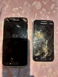 Vendo pra concerto ou retirada de peças Galaxy S5 e Ace 4