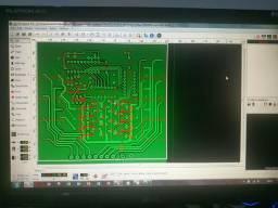 Confecção e fabricação de PCB's