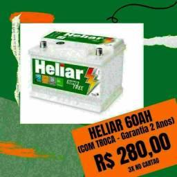 Heliar 60Ah Super Free R$280,00