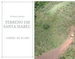 G8* Terreno de 1000m² próximo a Arujá, Guarulhos e Santa Isabel