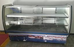 Balcão refrigerado horizontal