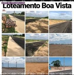 Loteamento Boa Vista- Invista na sua moradia com segurança!*!