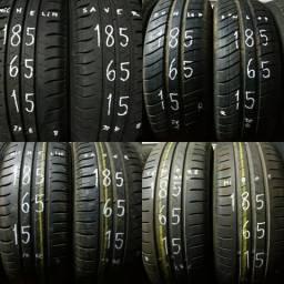 ??pneus semi novos ?175/65-15