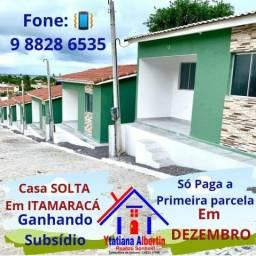 Linda Casa Solta na Ilha de Itamaracá! só paga primeira parcela daqui a 6 meses