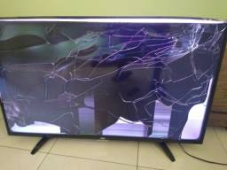 """Smart Tv AOC 43""""  retirada peças"""