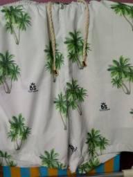 Shorts moda praia-2021 m e f