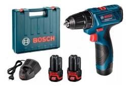 Parafusadeira e Furadeira a Bateria GSR 120-Li Bosch - (Novo/Loja)