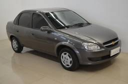 Classic LS 1.0 - completo + air bag - cinza - ano 2014