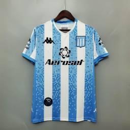 Camisa Racing Home 2020 / 2021 - Torcedor