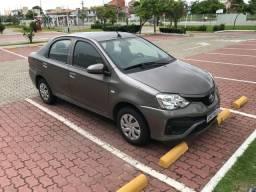 Etios 2018 automático c/gás G5 R$51,000,00