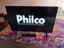 Smart TV led philco 32 polegadas full HD novinha