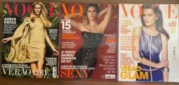 Kit 3 Revistas Vogue 2010