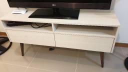 Rack de televisão 2 gavetas - semi-novo - pouquíssimo usado