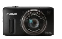 Camera Canon Powershot Sx260 12.1 Mpixels Gps