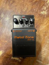 Pedal boss metal zone e turbo distortion ds2