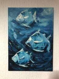 Quadro peixes