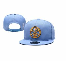 Boné Denver Nuggets Nba Nfl Aba Reta Trucker Baseball Cap