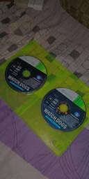 Watch dogs disc 1,2 para xbox360