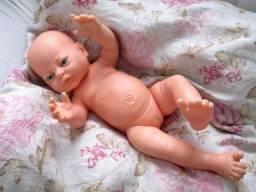 Boneca Bebê Recém Nascida De Vinil