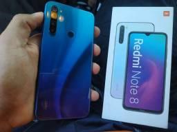 Redmi Note 8 128 GB Vendo Troco Aceito Cartão