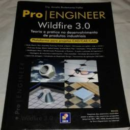 Livro Pro/Engineer Wildfire 3.0 - NOVO